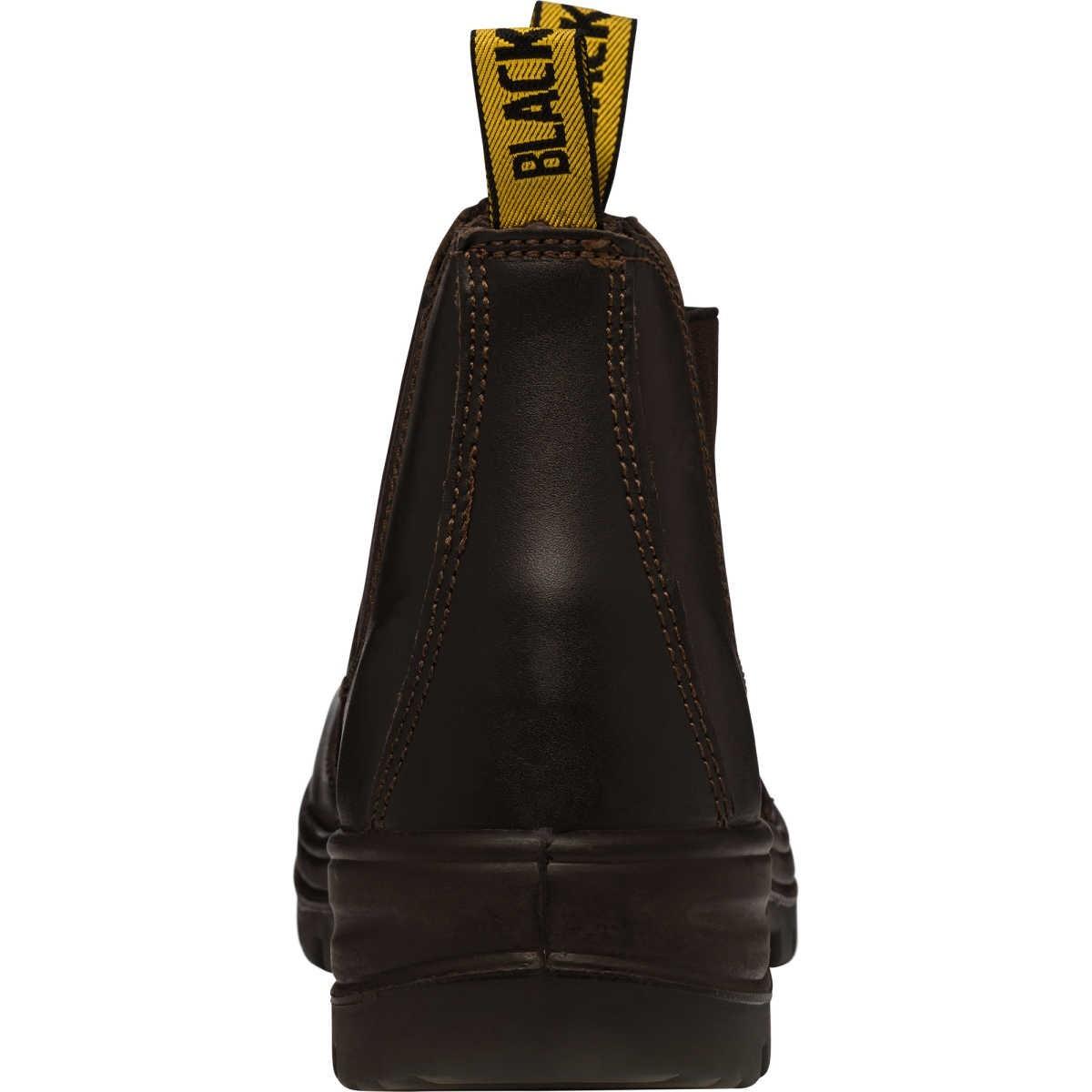 de8f64da5cc Blacksmith Celt Steel Cap Work Boots - Black - Size 7