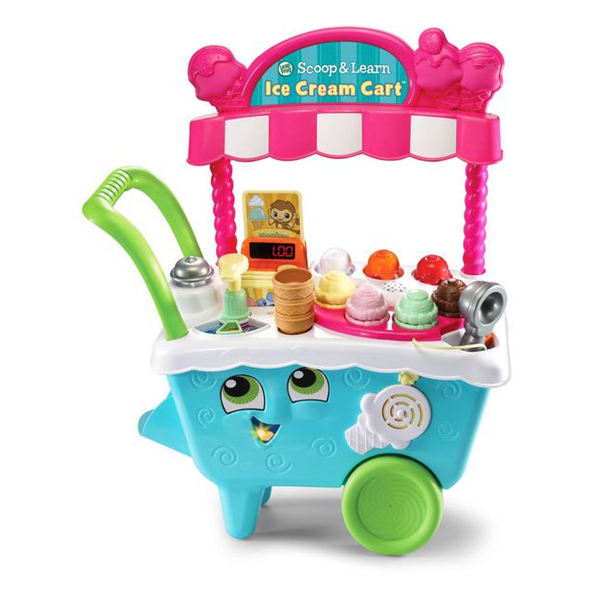 Leapfrog Scoop Learn Ice Cream Cart Big W